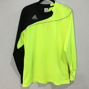 Adidas climalite goalie soccer jersey long sleeve